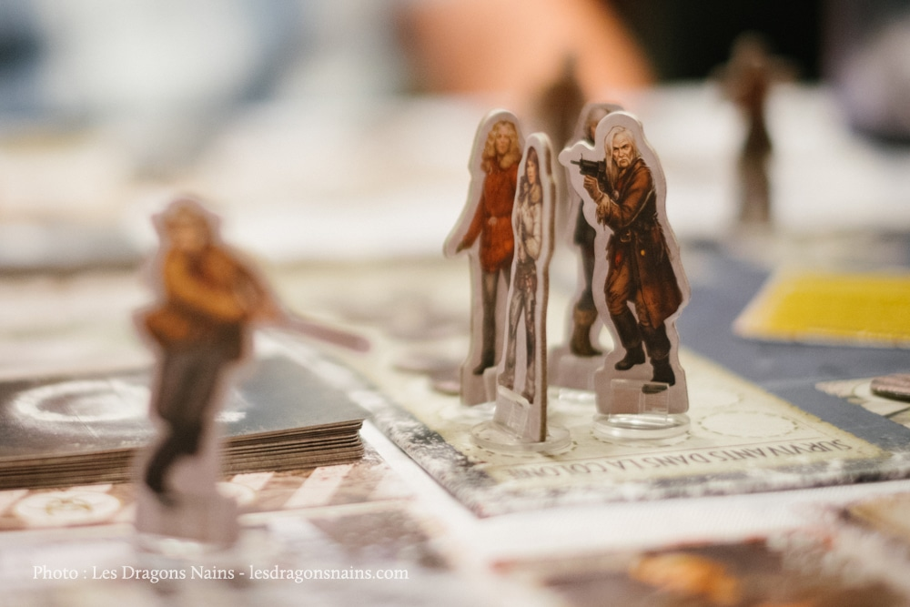 Personnages Dead of Winter