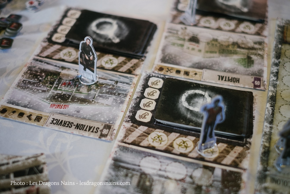 Lieux de Dead of Winter