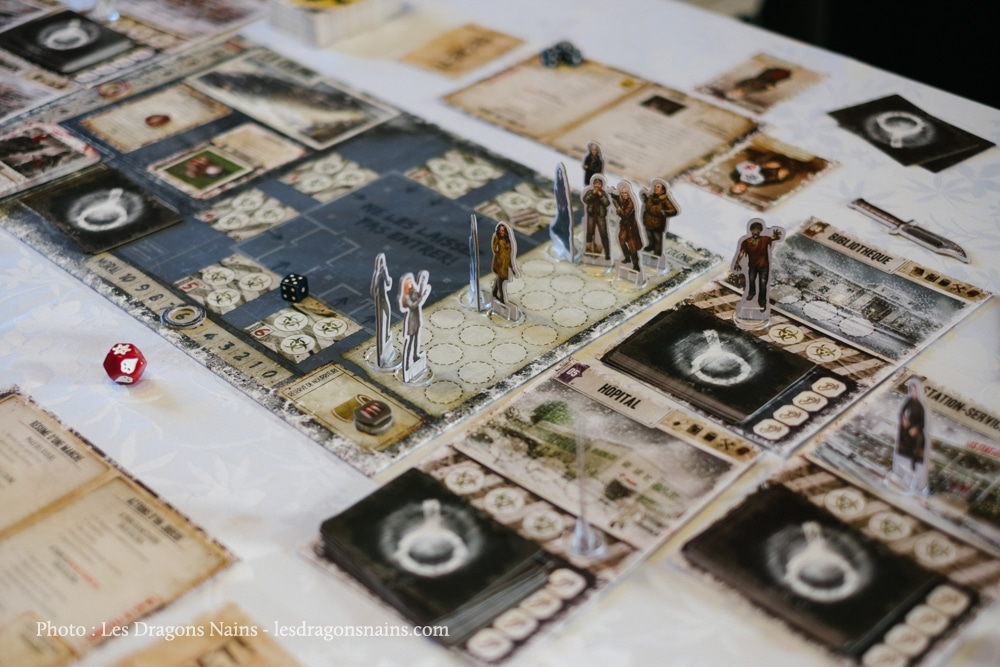 Dead of winter - le plateau de jeu